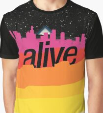 ALIVE scape Graphic T-Shirt
