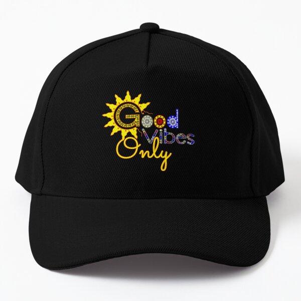 Good vibes creative and unique design Baseball Cap