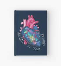 Stars In Your Heart Hardcover Journal