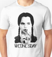 Wednesday Addams | Die Addams Family Slim Fit T-Shirt