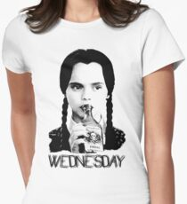 Wednesday Addams | Die Addams Family Tailliertes T-Shirt