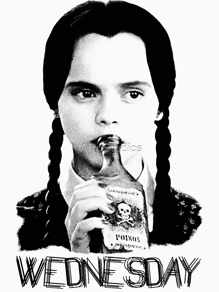 wednesday addams the addams family unisex t shirt a t shirt of