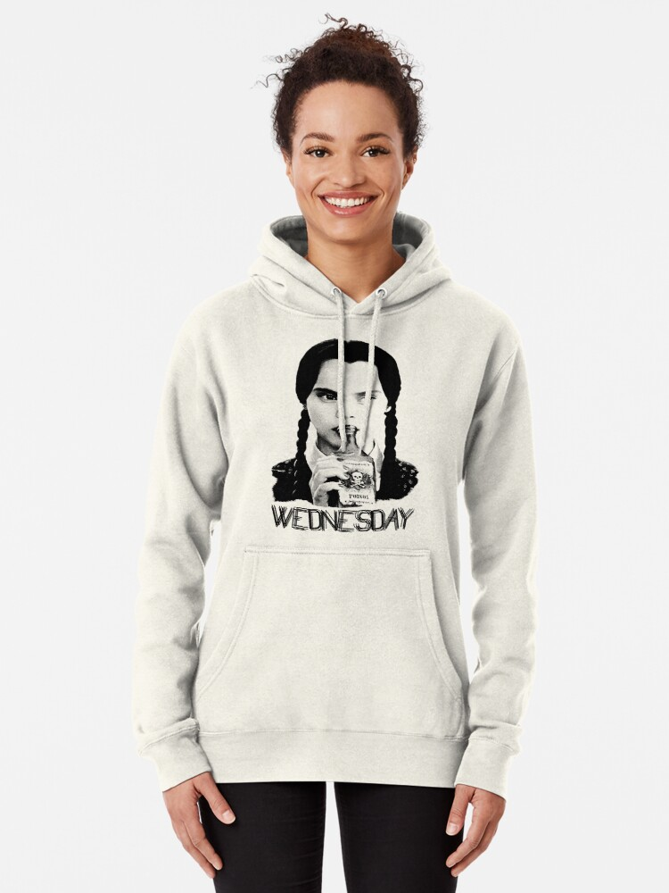 Alternate view of Wednesday Addams   The Addams Family Pullover Hoodie