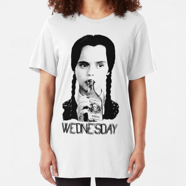 Wednesday Addams | The Addams Family Slim Fit T-Shirt