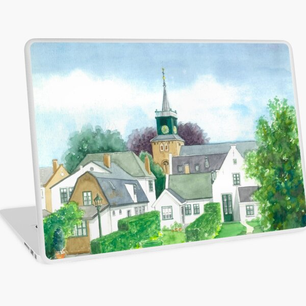 NIGTEVECHT THE NETHERLANDS Laptop Skin