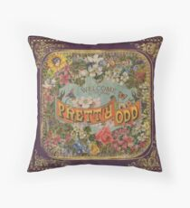 Pretty. Odd. Throw Pillow