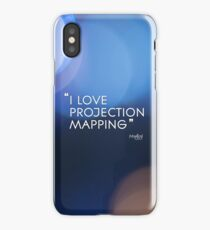 I love projection mapping iPhone Case/Skin