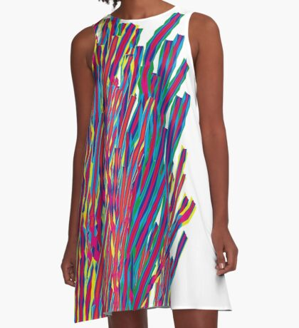 ribbons attack A-Line Dress