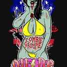Zombie Groupie by deerokone