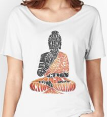 The Eightfold Path Buddha Women's Relaxed Fit T-Shirt