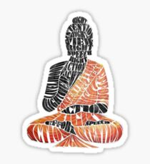 The Eightfold Path Buddha Sticker