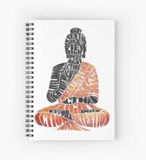 The Eightfold Path Buddha Spiral Notebook