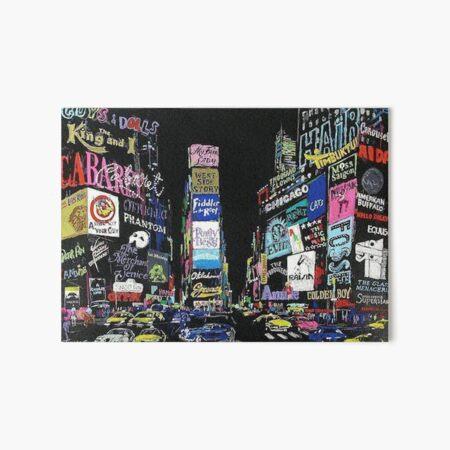NewYork Musicals/Broadway!! Art Board Print