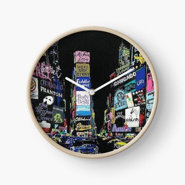 NewYork Musicals/Broadway!! Clock