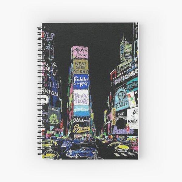 NewYork Musicals/Broadway!! Spiral Notebook