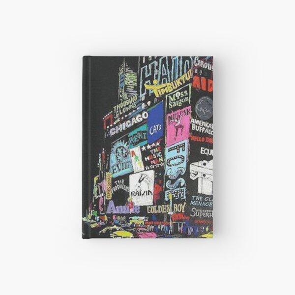 NewYork Musicals/Broadway!! Hardcover Journal