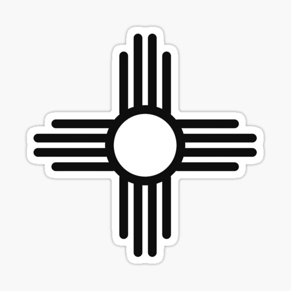 Oil Field Worker New Mexico map emblem NM Flag sticker decal computer phone