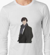 Sherlock Vector Long Sleeve T-Shirt
