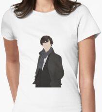 Sherlock Vector Women's Fitted T-Shirt