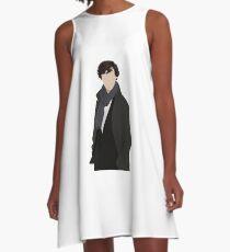 Sherlock Vector A-Line Dress