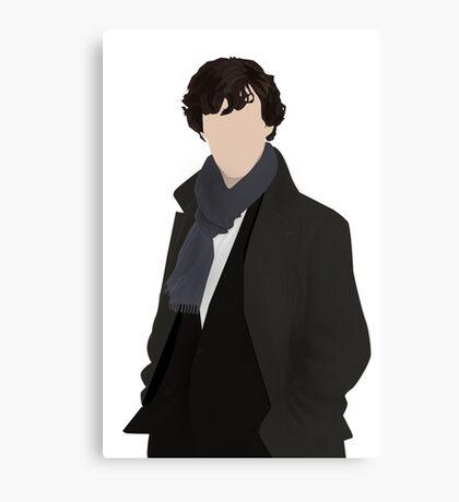 Sherlock Vector Canvas Print