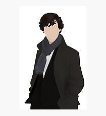Sherlock Vector Photographic Print