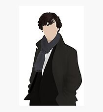 Sherlock Vector Photographic Print