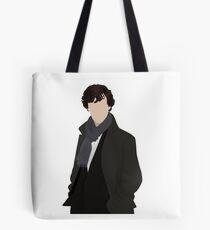 Sherlock Vector Tote Bag