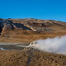 Namafjall geothermal by Chris Thaxter
