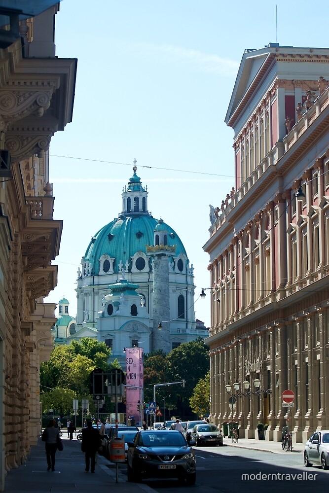City street, Vienna by moderntraveller