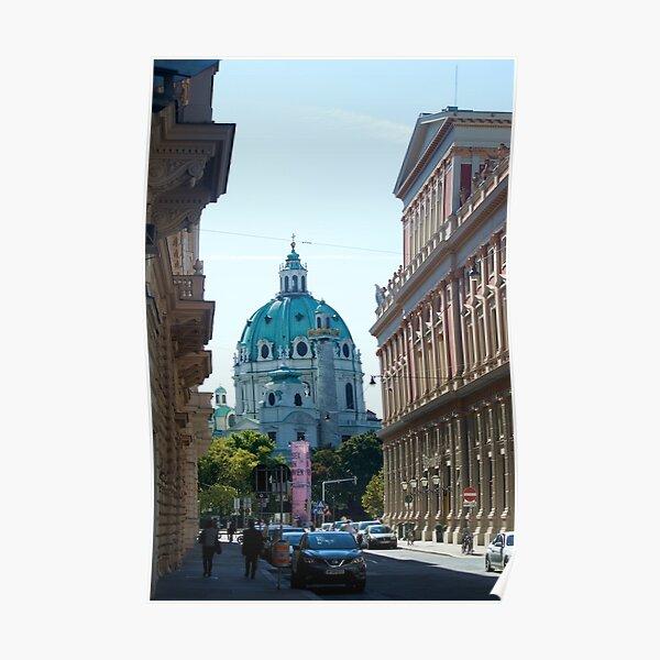City street, Vienna Poster