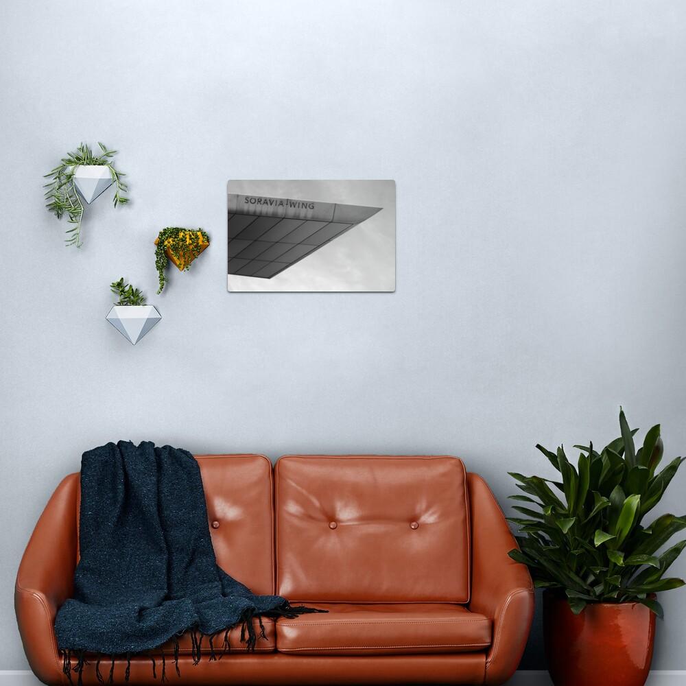 Soravia Wing architecture, Vienna Metal Print