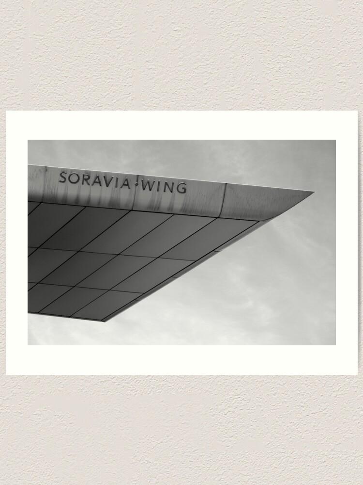 Alternate view of Soravia Wing architecture, Vienna Art Print