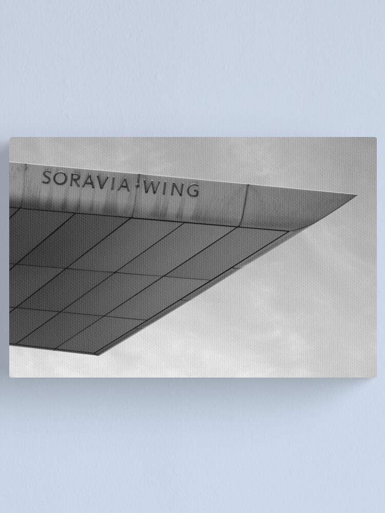Alternate view of Soravia Wing architecture, Vienna Canvas Print