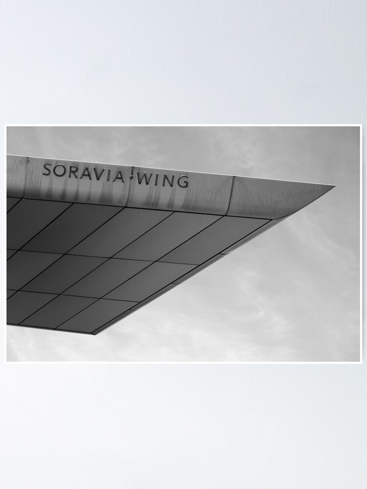 Alternate view of Soravia Wing architecture, Vienna Poster