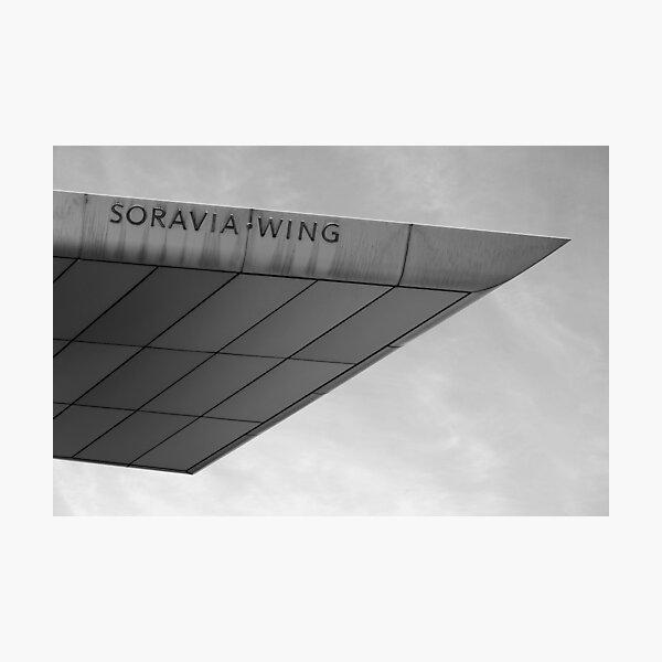 Soravia Wing architecture, Vienna Photographic Print