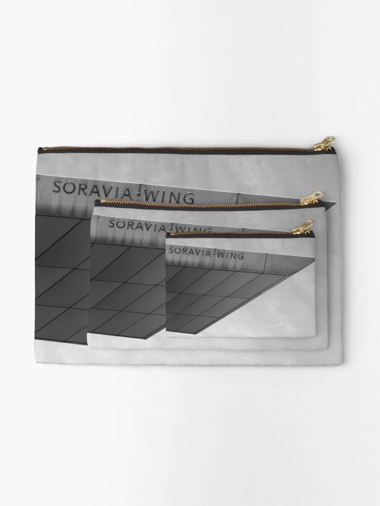 Alternate view of Soravia Wing architecture, Vienna Zipper Pouch