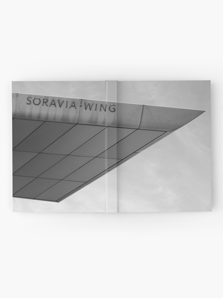 Alternate view of Soravia Wing architecture, Vienna Hardcover Journal