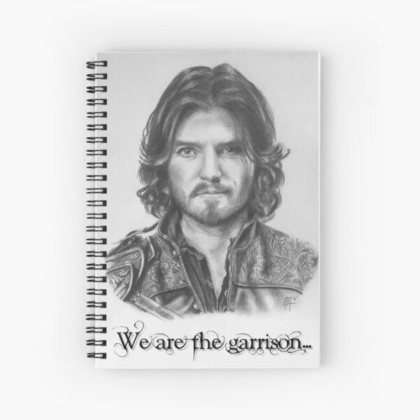 Athos nous sommes la garnison Cahier à spirale