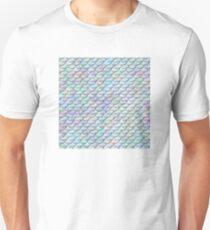 Mermaid Scales - Shiny Light Unisex T-Shirt