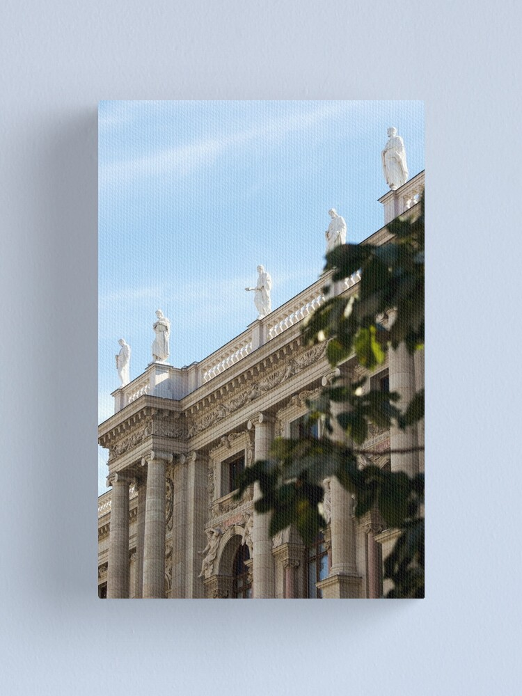 Alternate view of Traditional building frontage, Vienna Canvas Print