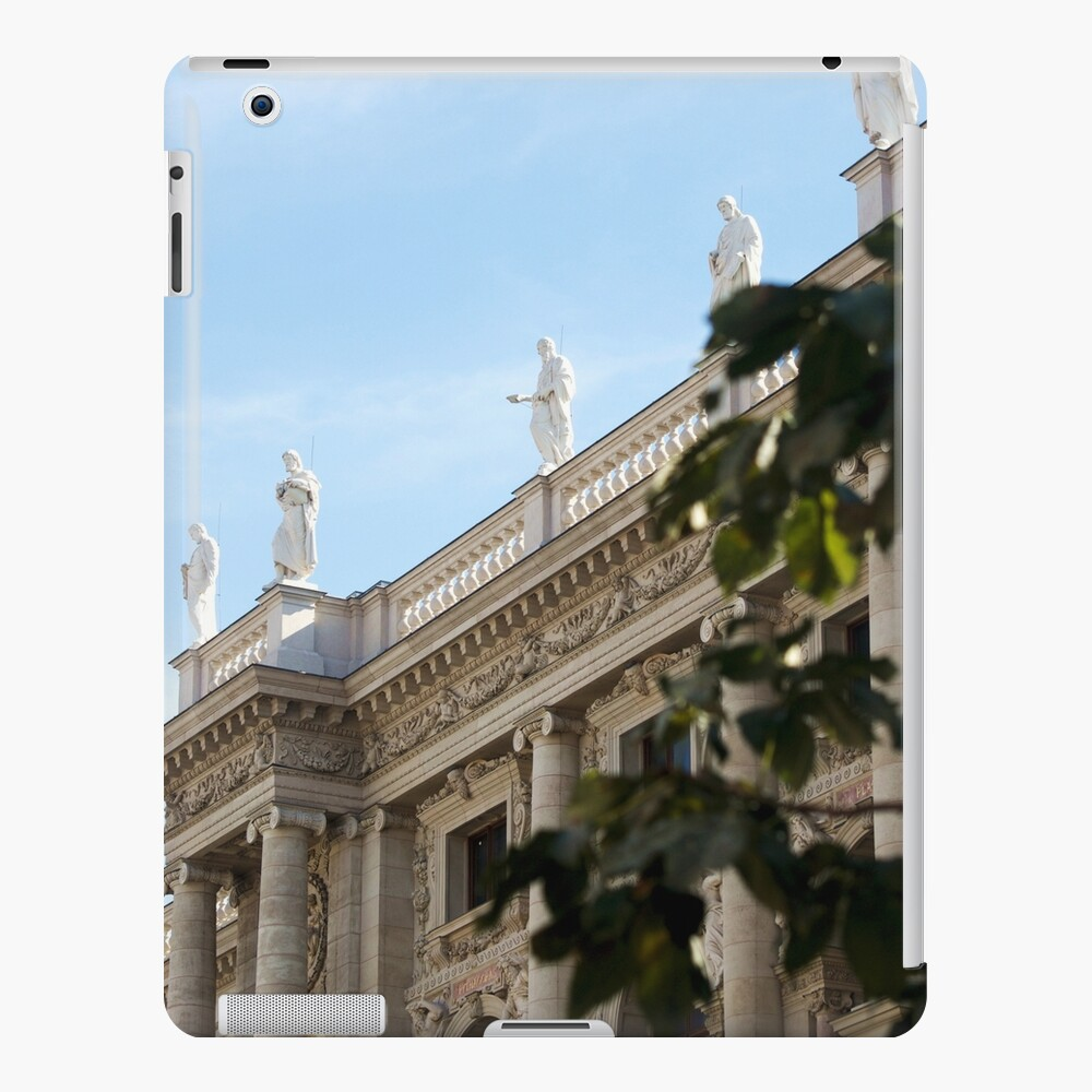Traditional building frontage, Vienna iPad Case & Skin