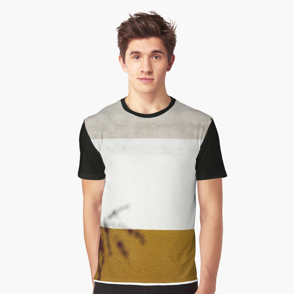 Tricolour wall, Vienna Graphic T-Shirt Front