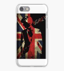 Sherlock Bored Vector iPhone Case/Skin