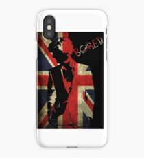 Sherlock Bored Vector iPhone Case/Skin