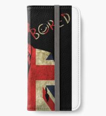 Sherlock Bored Vector iPhone Wallet/Case/Skin