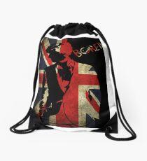 Sherlock Bored Vector Drawstring Bag