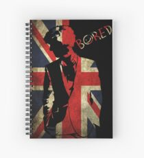 Sherlock Bored Vector Spiral Notebook