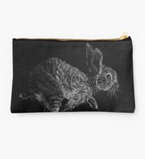 Young White-tailed Jack Rabbit Studio Pouch