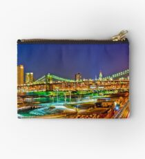 Brooklyn easter gifts merchandise redbubble happy easter night in nyc studio pouch negle Image collections